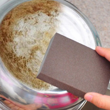 2Pcs Best Price Sponge Kitchen Nano Emery Magic Clean Rub the pot Except rust Focal stains Sponge melamine sponge