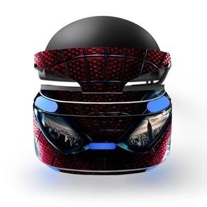 Image 2 - Sipderman Iron Man wymienna winylowa tablica naścienna skórka naklejka obudowa ochronna do Playstation VR PS VR PSVR folia ochronna skórka naklejka