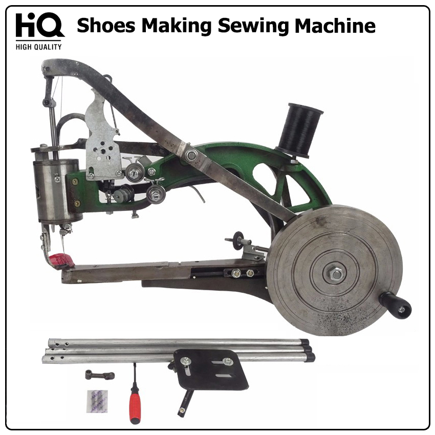 HQ Manual Shoes Repair Sewing Machine Portable Leather Shoe Making Equipment Kit Cobblers Shoemaker Hand Sewing Tools Industrial