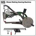 HQ Manual zapatos de reparación de la máquina de coser portátil de cuero equipo de fabricación de zapatos Cobblers herramientas de mano de coser Industrial