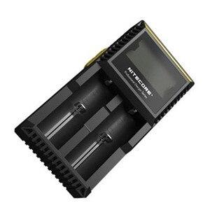 Image 3 - Originale Nitecore D2 Caricabatteria LCD Intelligente di Ricarica per 18650 14500 16340 26650 AA AAA Batterie 12V Caricatore h15