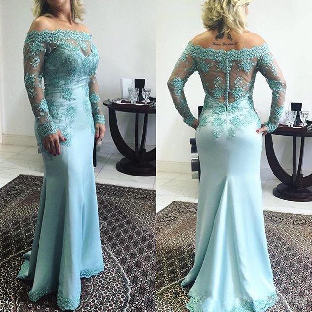 Mermaid Mother Bride Dresses