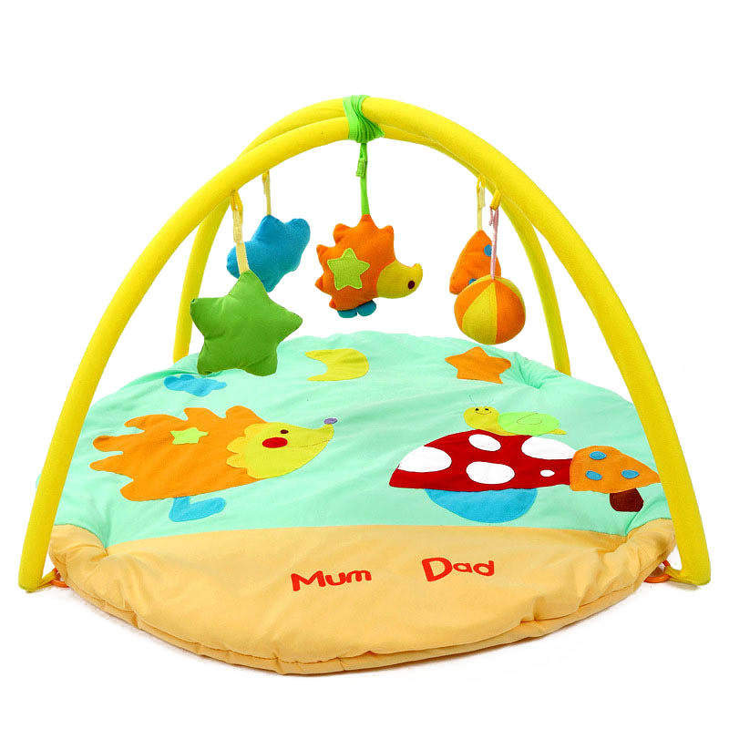 Cute Bebe Educational Baby Toy Kids Play Mat Tapete Infantil Crawling Game Mat Play Activity Gym Blanket Carpet Rug 0-1 Year
