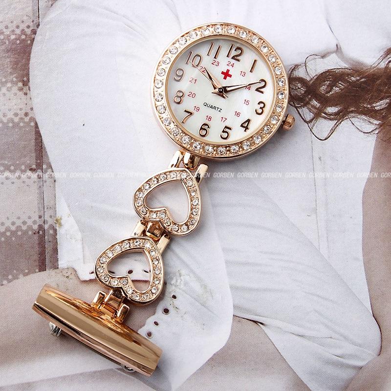 2018 сәнді медбикелер Pocket Watch Әйелдер Chic - Қалта сағаты - фото 2