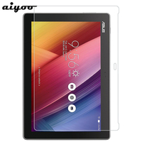 Aiyoo 9H Tempered Glass for Asus ZenPad 10 Z300 Z300C Z300CL Z300CG Z300M Z301 Z301ML Z301MFL 10.1
