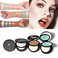 Professional Beauty Eyeshadow Palette Makeup GLitter Eye Shadow Palette Make Up White metal Glitter Shimmer Eyeshadow