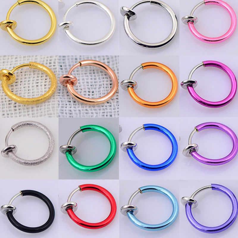 ใหม่แฟชั่นเครื่องประดับเกาหลีต่างหูคนรักวงกลมแหวนต่างหูและแหวนต่างหูหญิง Hip Hop Hoop ต่างหู