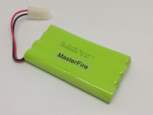 MasterFire 2PACK/LOT Brand New 9.6V AA 1800mAh Ni-MH Battery Rechargeable NiMH Batteries Pack With Plugs