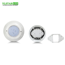 YLSTAR Free shipping ABS Surface Mounted Swimming Pool Light IP68 Waterproof Underwater Outdoor  White/R/G/B AC/DC12V