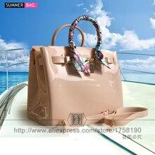 2017 hot sale new luxury handbags women bags designer women fashion candy color handbag Jelly bags