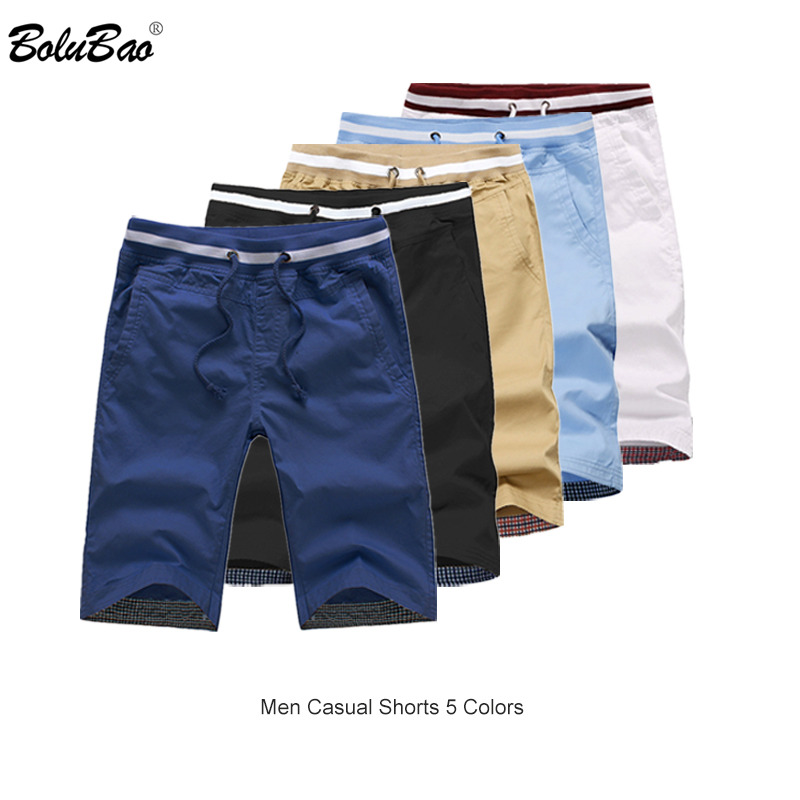 BOLUBAO Brand Men Casual Shorts 2019 Summer Male Beach Shorts Breathable Men's Bermuda Shorts Clothing