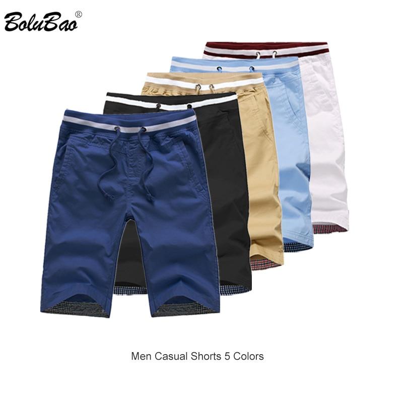 BOLUBAO Brand Men Casual Shorts 2019 Summer Male Beach Shorts Breathable Men's Bermuda Shorts Clothing