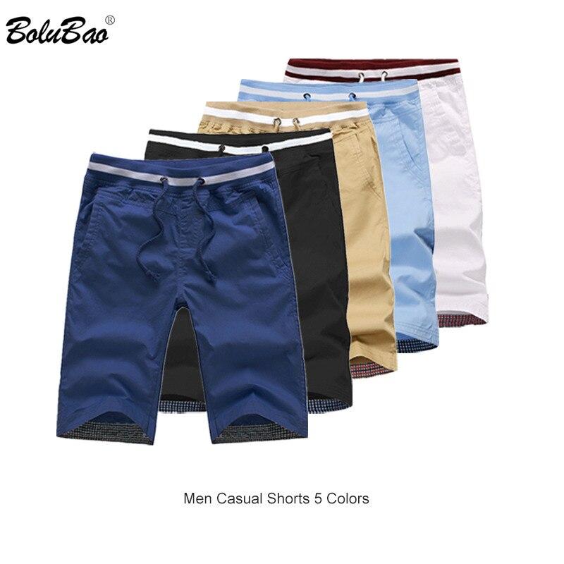 BOLUBAO Brand Men Casual Shorts Summer Male Beach Shorts Breathable Men's Bermuda Shorts Clothing
