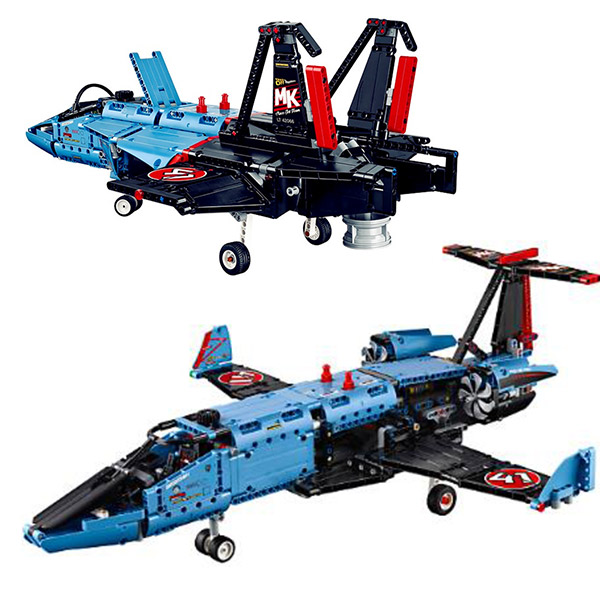 LEPIN 20031 Technician Series The Jet Racing Aircraft Air Race Jet Building Block 1151Pcs Bricks Toys Gift for Gift 42066