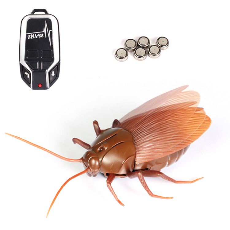 2019 New 1pcs Lifelike Simulation Cockroach Ant Spider Infrared Remote Control Tricky Toy Toys & Hobbies