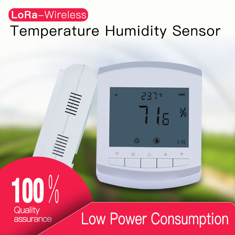 Image 1 - wireless temperature humidity sensor 433/868/915mhz lora temperature data logger humidity meter transmitter Battery operated-in Communications Parts from Cellphones & Telecommunications