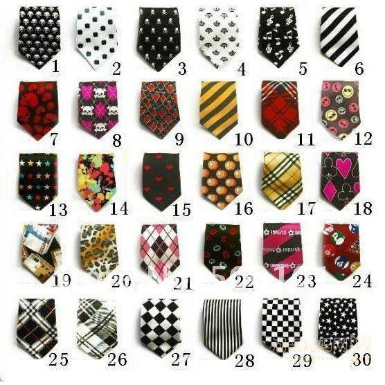 b20a15be1729 100pcs/lot girls` ties boys` Neckties Children`s babies` Neck Tie ...