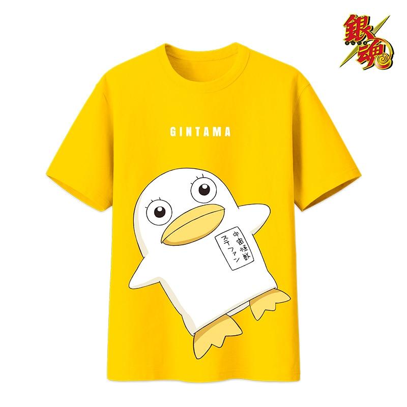 Anime Gintama Cosplay Costumes Kotarou Katsura Elizabeth Cosplay Short Sleeve Costume Halloween Party Unisex T-Shirt