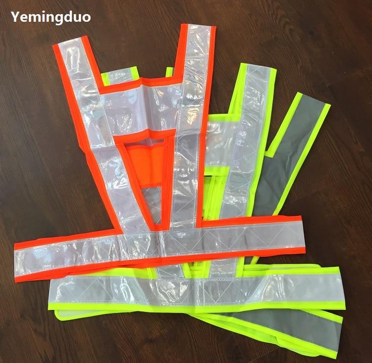 Reflective Tape Safety Warning V Style Vest Reflective Clothing