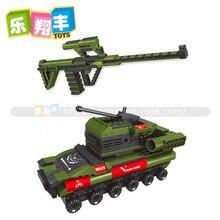 442pcs Military Plastic 2 in 1 STEYR AUGA Rifle Gun Weapon Model Building Block Sets Educational DIY Bricks Toys