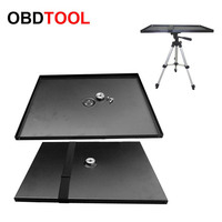 Universal Steel Laptop Notebook Smartphone Projector Tray Holder Platform Pallet for 1/4'' and 3/8'' Screw Tripod Stand Mount
