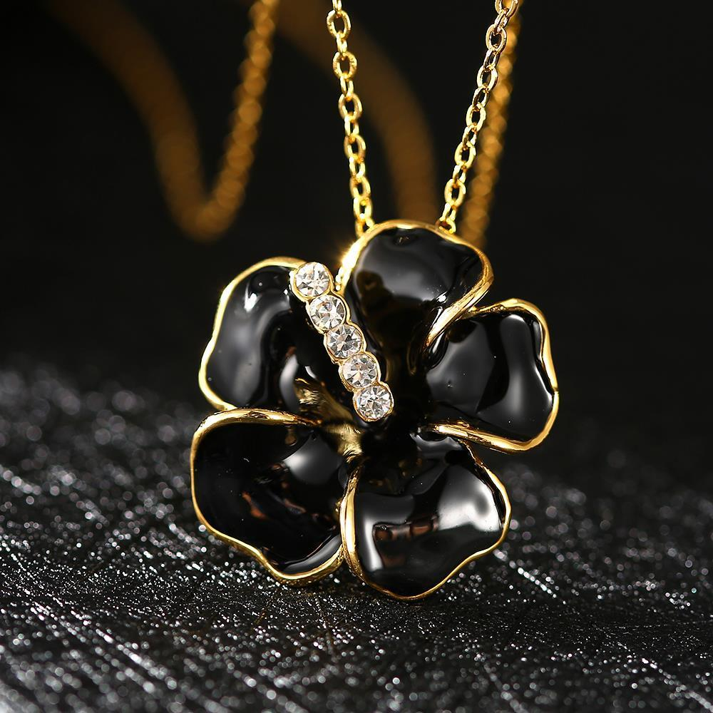 N650 WholesaleNickle Free Antiallergic18K Real Gold PlatedNecklace pendantsNew Fashion JewelryFor Women