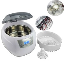 Yüksek Kaliteli Ultrasonik Temizleyici Mücevher Diş İzle Gözlük Diş Fırçaları Temizleme Aracı 750 ml Ultrasonik Temizleyici Banyo 220 V