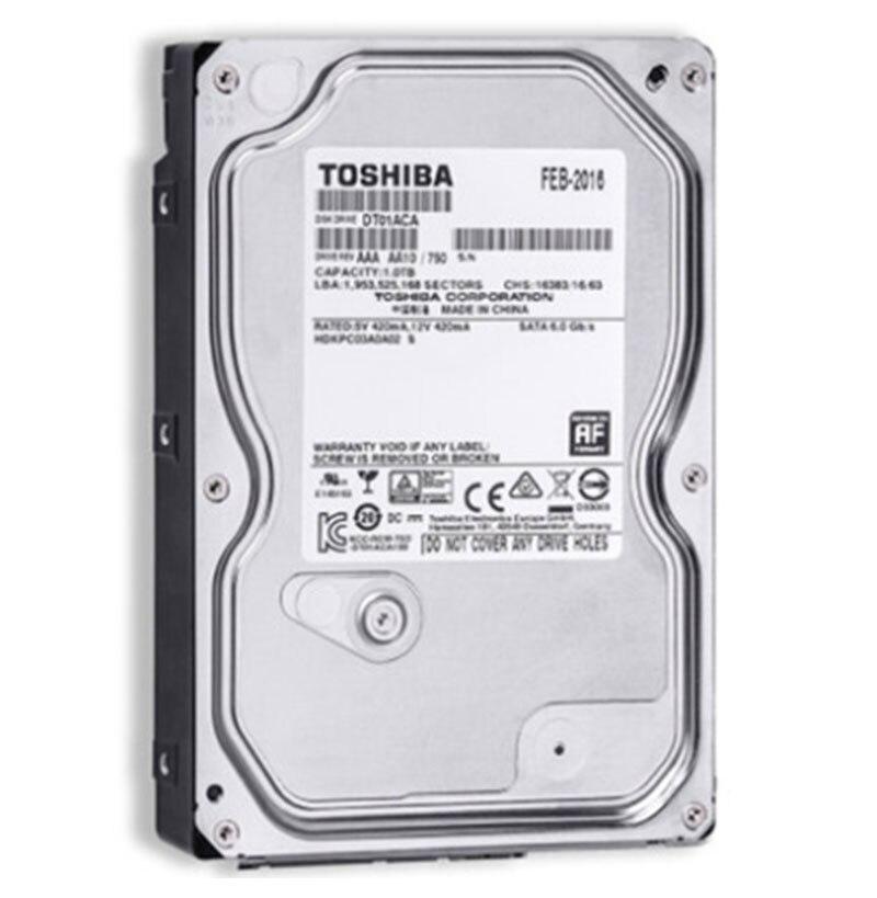 TOSHIBA 3.5Inch Hard Drive 500GB 1TB HDD Disk 1T Internal HD 7200RPM 32M SATA 3 for Computer Internal Hard Drives Drevo 2