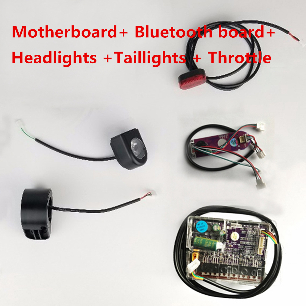 Xiaomi Mijia M365 Electric Scooter Instrument Circuit Board Cluster It Is Bolted To The Skateboard Motor Card Motherboard Controller Main Esc For