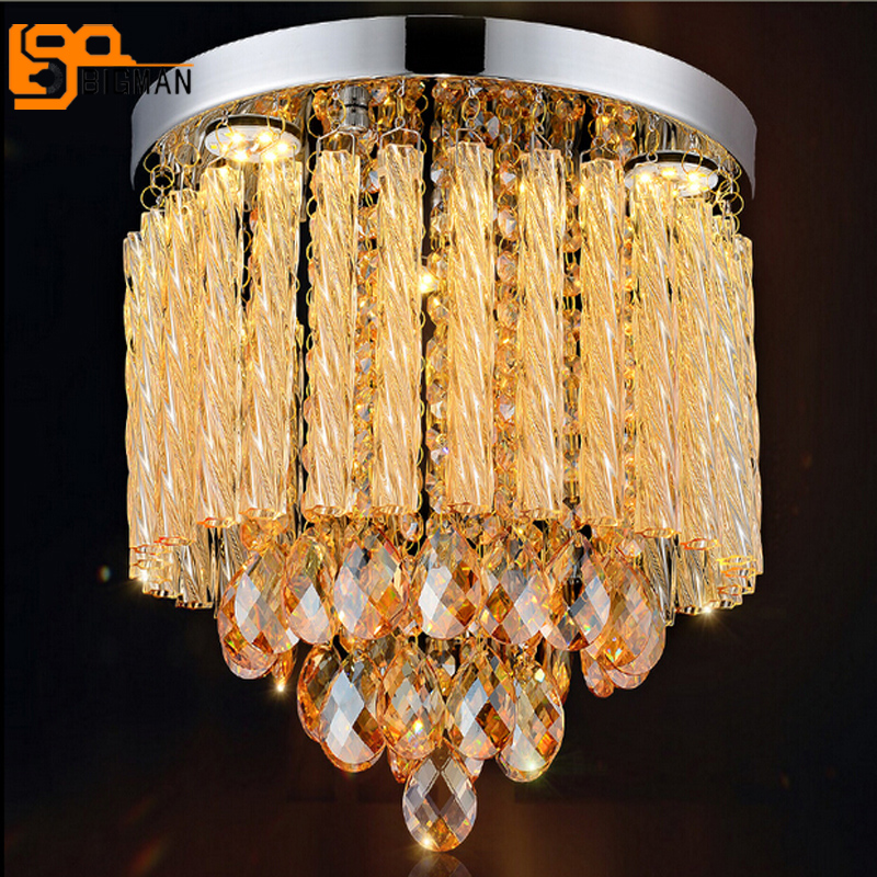 new design crystal ceiling lights modern plafond lamp lustres LED Light fixtures for home crystal light noosion modern led ceiling lamp for bedroom room black and white color with crystal plafon techo iluminacion lustre de plafond