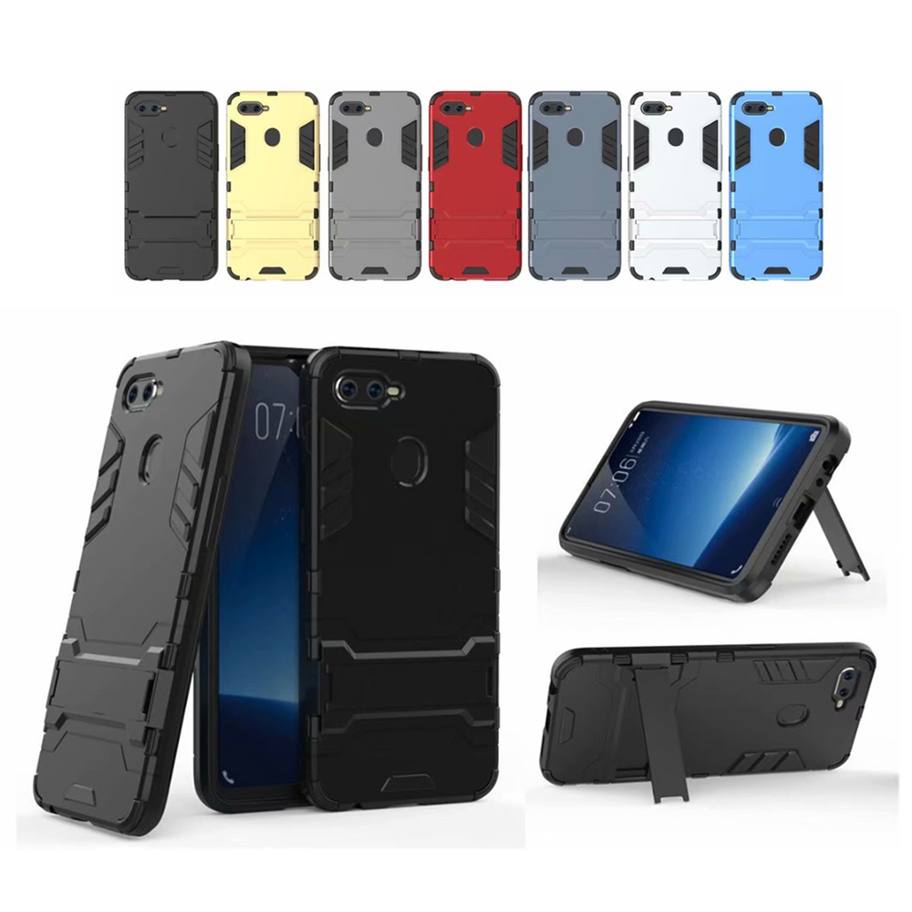 Case For OPPO F9 Anti-Knock Shockpoof Armor Silicon Case For OPPO F9 Soft TPU Phone Case Cover Funda Capa Coque Shell