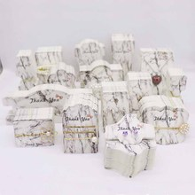 100pcs/lot Spring New arrival Multiple styles Marbling Jewelry Display&Packaging Cards Including Necklace&Earring&HairClip cards