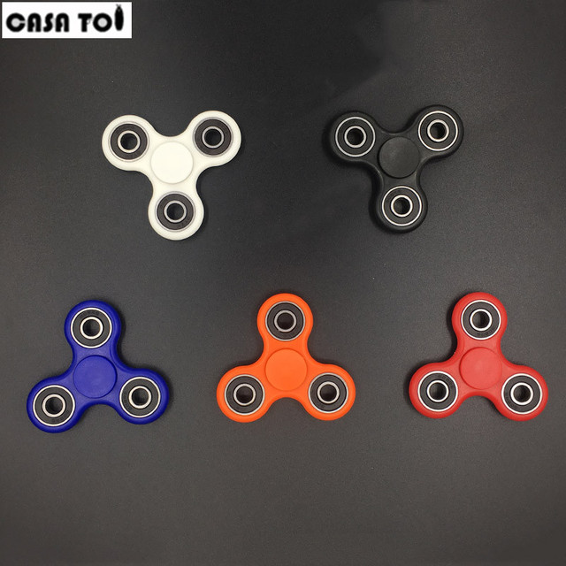 Fingertip gyroscope Tri-Spinner Fidget Toy Plastic EDC Hand Spinner For Autism and ADHD hand spinner EDC Sensory Fidget Spinners