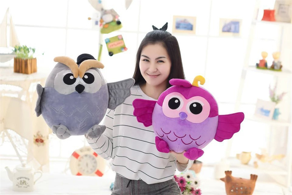 Kawaii Owl plush toys stuffed animal soft doll gift for kids cute plush children toys big toy owl plush doll children s toys simulation stuffed animal gift 28cm