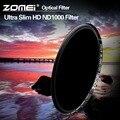 ZOMEI 77 мм ND1000 Тонкий HD ND 10-stop Фильтр 18 Слоя Multi-coated/3.0 Нейтральной Плотности Серый Фильтр для Canon Nikon Sony Fujifilm