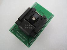 Z klapką QFN-40BT0 4-01 QFN40 5*5mm szerokość rzędów 0 4mm ENPLAS IC zasilacz testujący napięcie test gniazda gniazdo testowe stanowisko testowe tanie tanio Tester kabli JINYUSHI 5X5mm