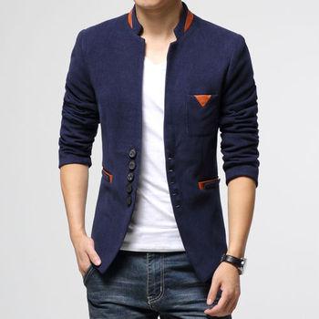 Casual Slim Fit Suit  Jacket Coat Blazers