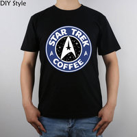 Star Trek And Story Arcs Coffee T Shirt Top Pure Cotton Men T Shirt New Design