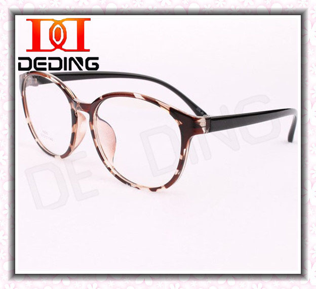 ᐊWomens Large Round Optical Glasses Frame Girls Fashion Myopia ...