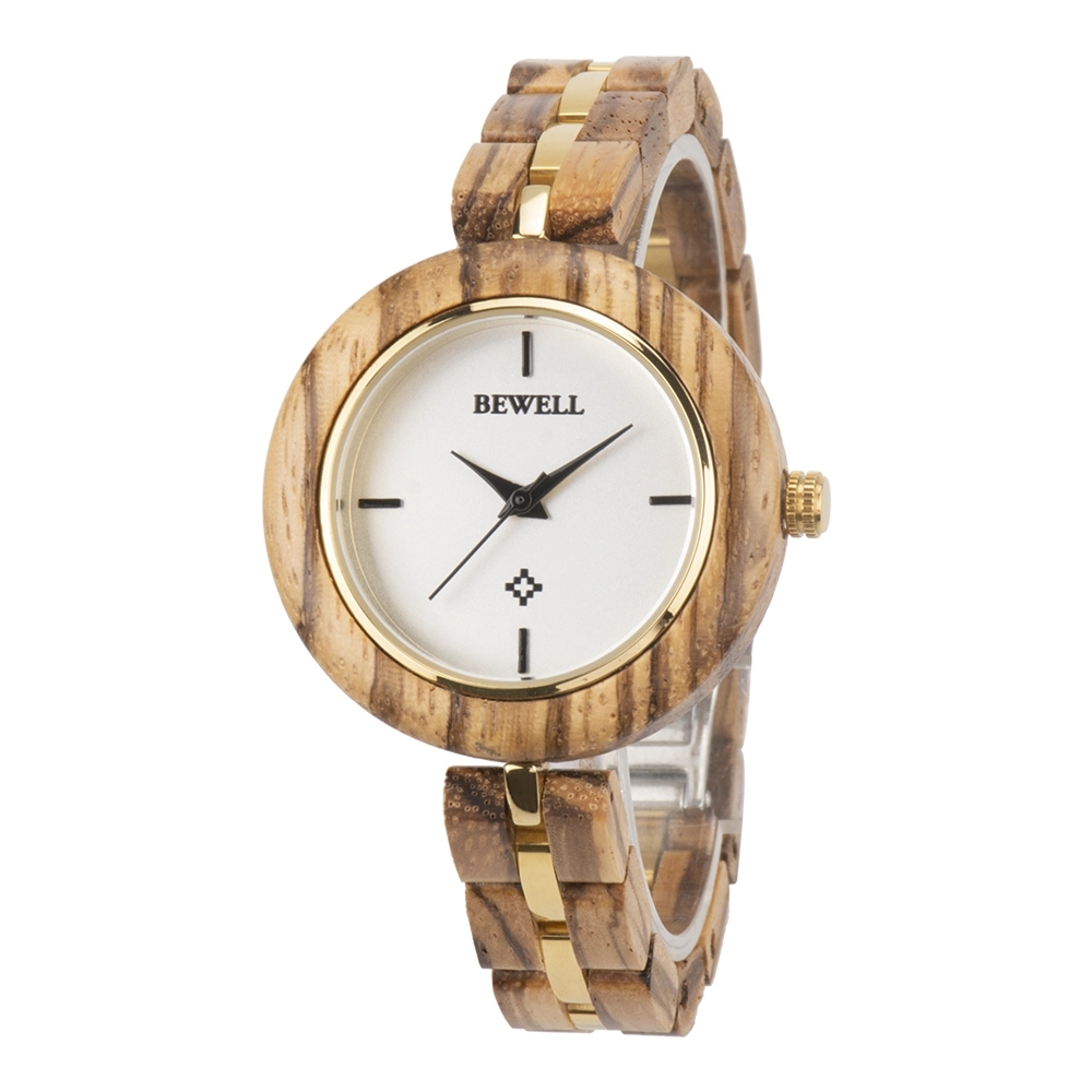 bewell fashion luxury handmade custom wholesale cheap quartz wrist engraved wooden watch 2019 new design watches 164A