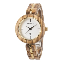 bewell fashion luxury handmade custom wholesale cheap quartz wrist engraved wooden watch 2019 new design watches 164A