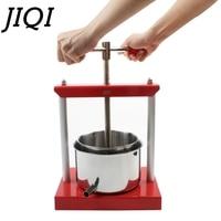 JIQI Stainless Steel Manual Squeezer Orange Lemon Citrus Press Juicer Slow Extractor Hand Fruit Juice Wine Separator Oil Pourer