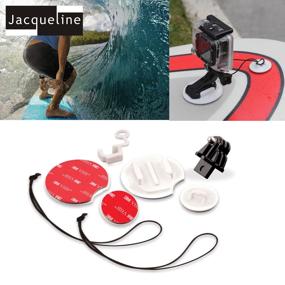 Jacqueline til Tilbehør Outdoor Bundle Kit Set til Gopro Hero HD 6 5 - Kamera og foto - Foto 3