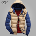 New Arrival 2017 Winter Jacket Men Warm Jackets Casual Parka Men Cotton padded Jacket Casual Thick Outwear Handsome Male Coat