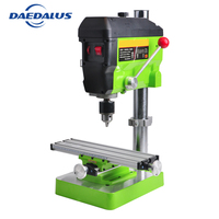 Mini Drill Table 6300 Manual Work Table Adjustable Multifunction Table Drill Press 680W 5168E Drill Stand Kit For Woodworking