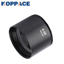 KOPPACE Stereo Microscope Auxiliary lens 287mm Working distance Microscope lens 0.3X Trinocular Stereo microscope objective