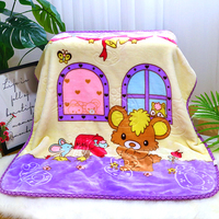 Double layer Baby Swaddling Blanket Child Sleeping Carpet Baby Crib Bedding Wrapping Quilt Flannel Newborn Fleece Blanket 0~5Y