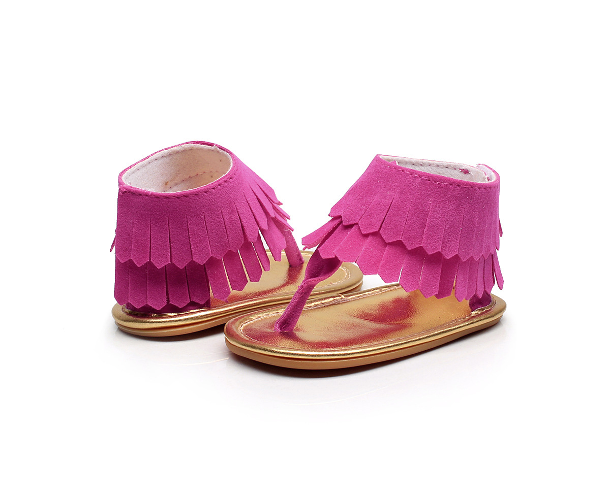 2018 Fashion Fringe Baby Moccasins Baby Girls Summer Shoes Infant Toddler First Walkers Hot