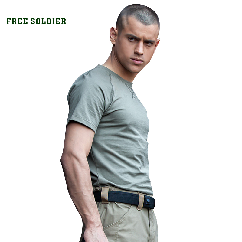 Wrench Brave Free Soldier Outdoor Tactical Camouflage Printing Breathable T-shirt Mens Quick-drying Short Sleeve T-shirt Cordura Fabric