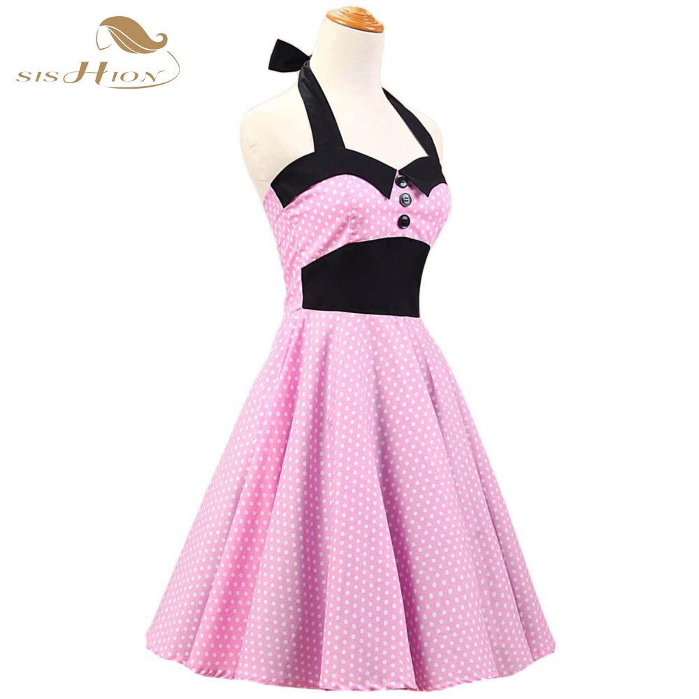 Sishion cuenta con audrey hepburn estilo retro vintage dress 50 s 60 ...